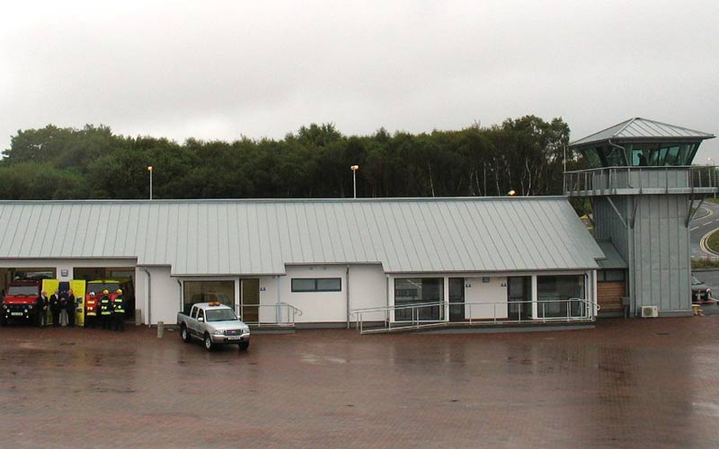 Connel Airport, commercial and industrial projects