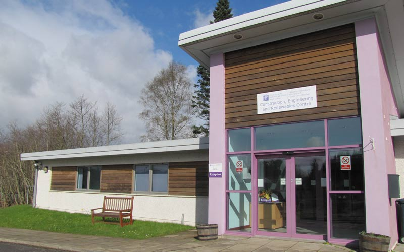 Construction Skills College Lochgilphead, education project