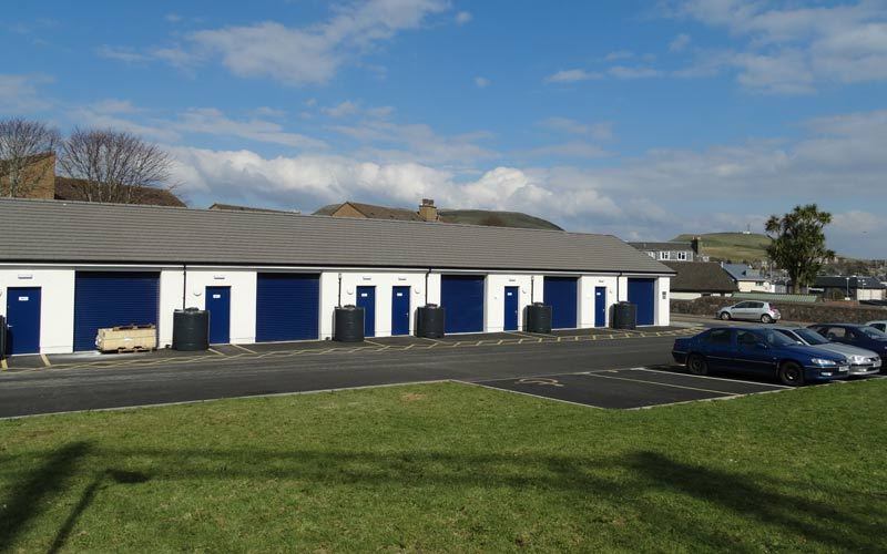 Jaeger factory units Campbeltown commercial project
