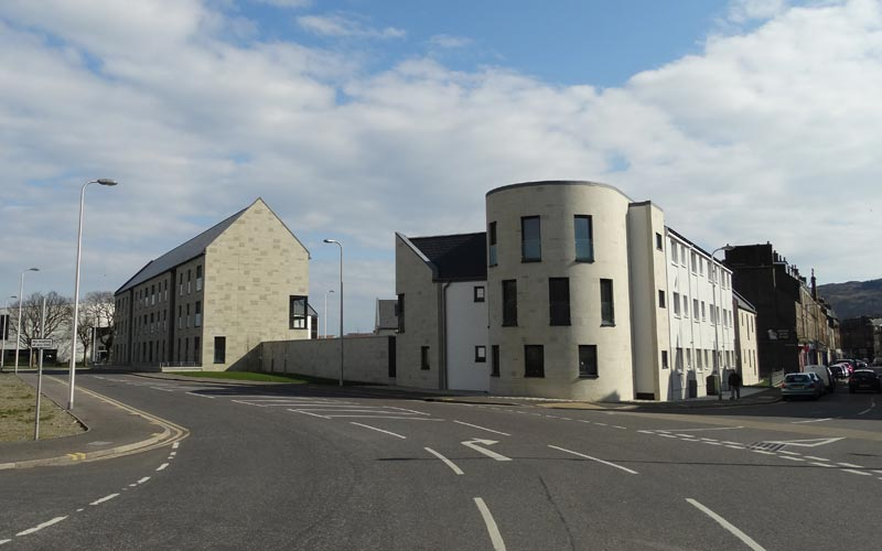 Park Square Housing development, Campbeltown