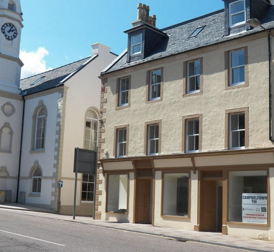 Shop unit for rent, 50 Main Street, Campbeltown