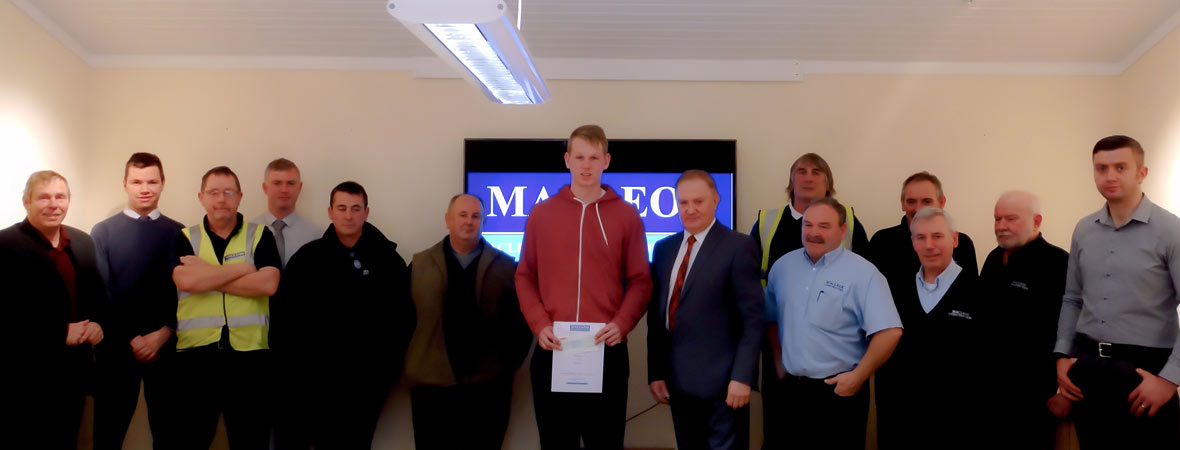 The specialist building and timber kit team at Macleods Construction