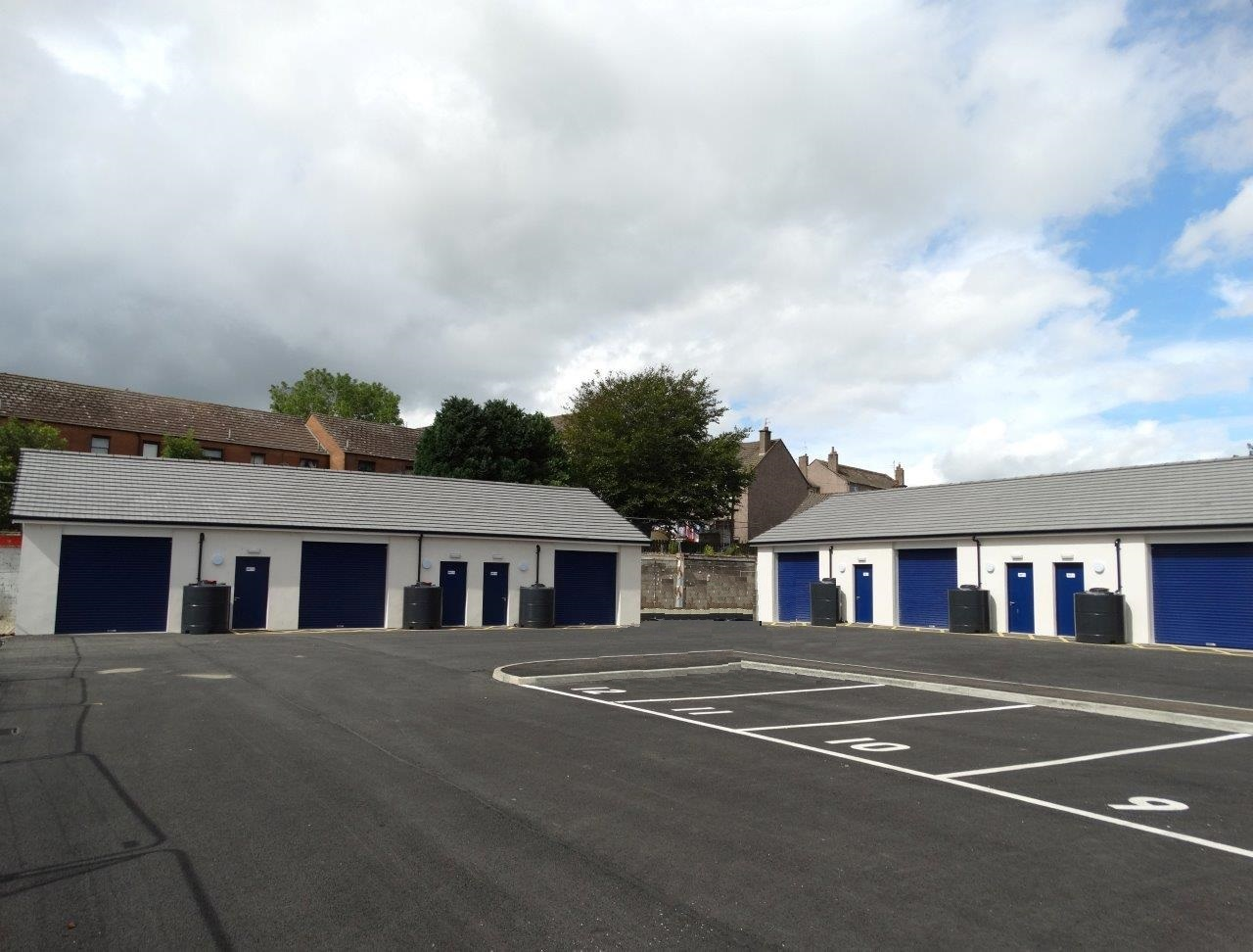Workshop units for rent, Albyn Road, Campbeltown